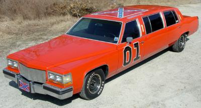 dukes of hazzard limo